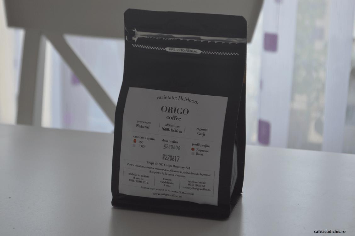 Etiopia Guji - Origo Coffee - cafeacudichis.ro