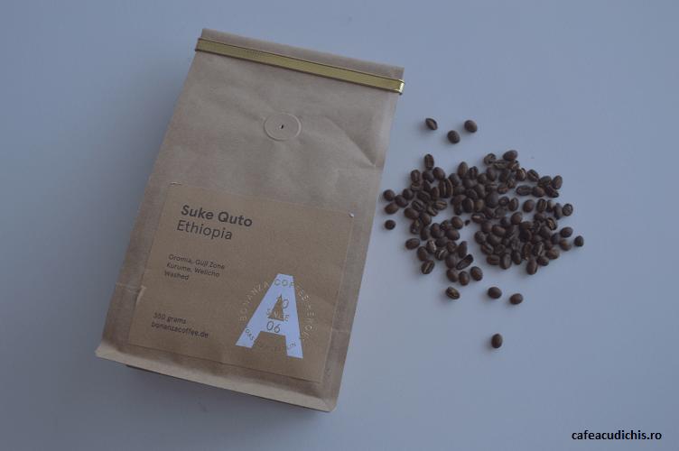 boabe cafea etiopia suke quto bonanza coffee horoes