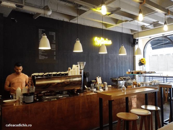 kaffeine coffee shop london