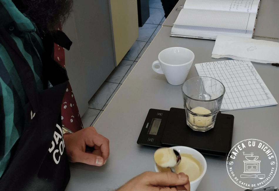 cum sa degusti cafea