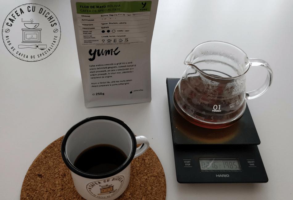 YUME Bolivia Flor de Mayo - Cafea cu Dichis