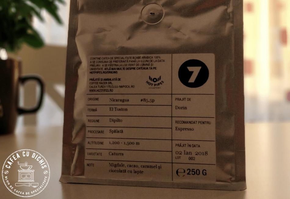 eticheta cafea de specialitate