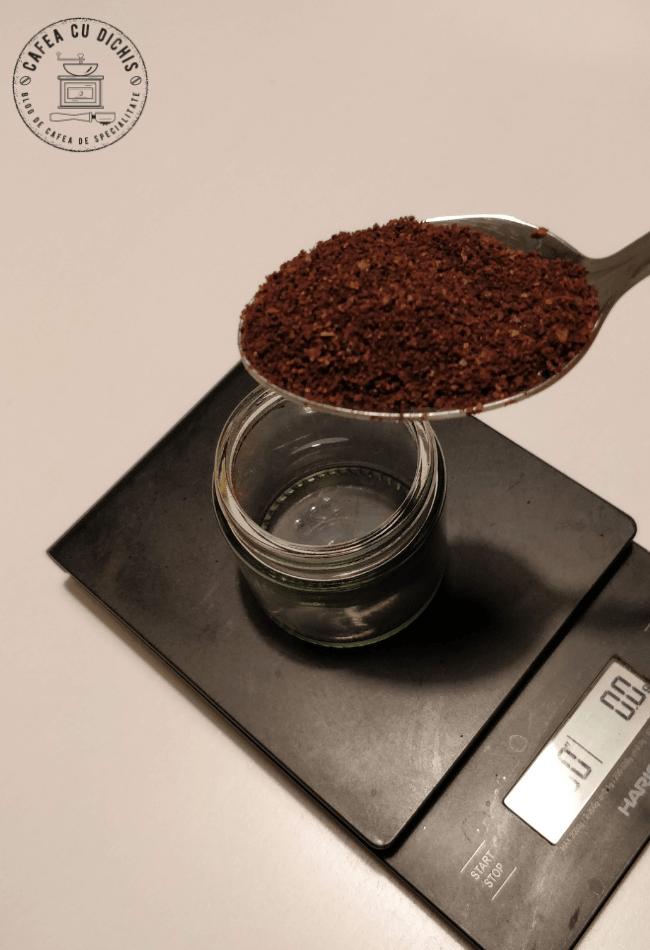 cafea la filtru corect